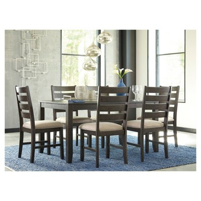 dining table set brown signature design by ashley in 2019 table rh pinterest com