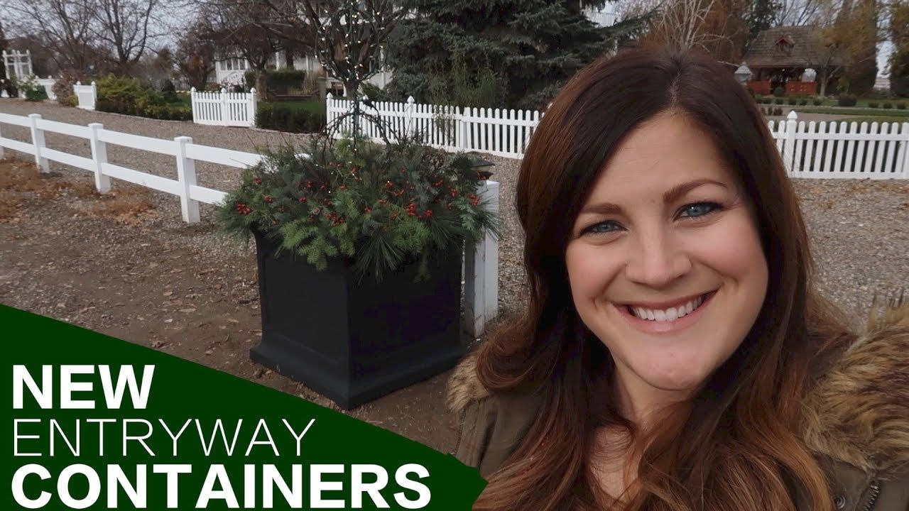 NEW Entryway Containers // Garden Answer Container
