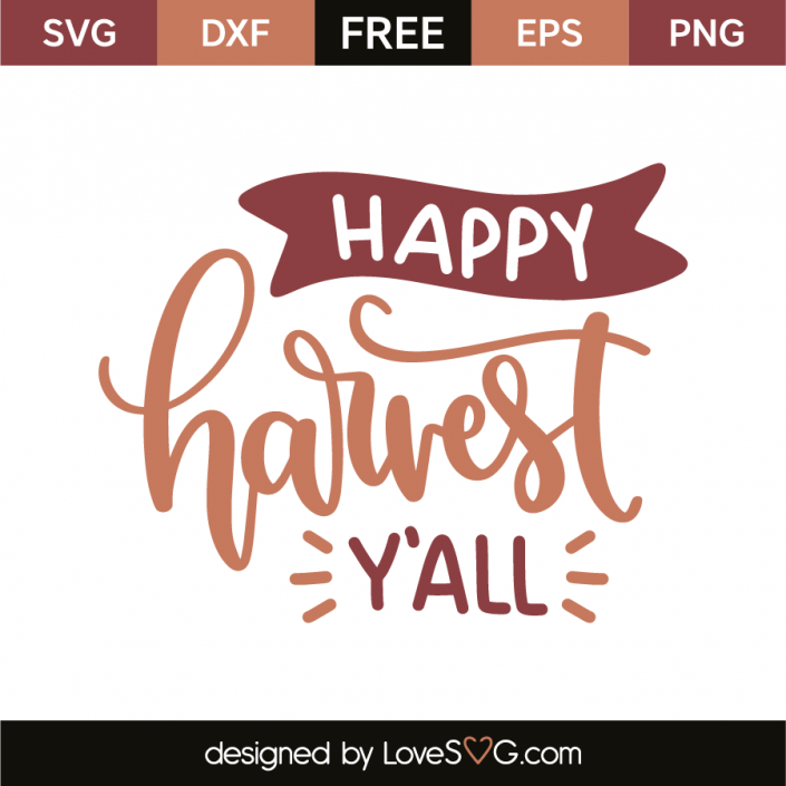 Happy harvest y'all Cricut monogram, Free svg fonts