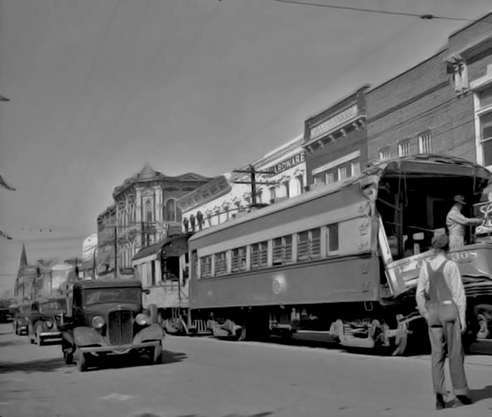 Downtown Sherman in an undated photo. (With images