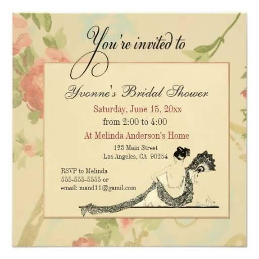 Avery Bridal Shower Invitation Templates Avery Bridal