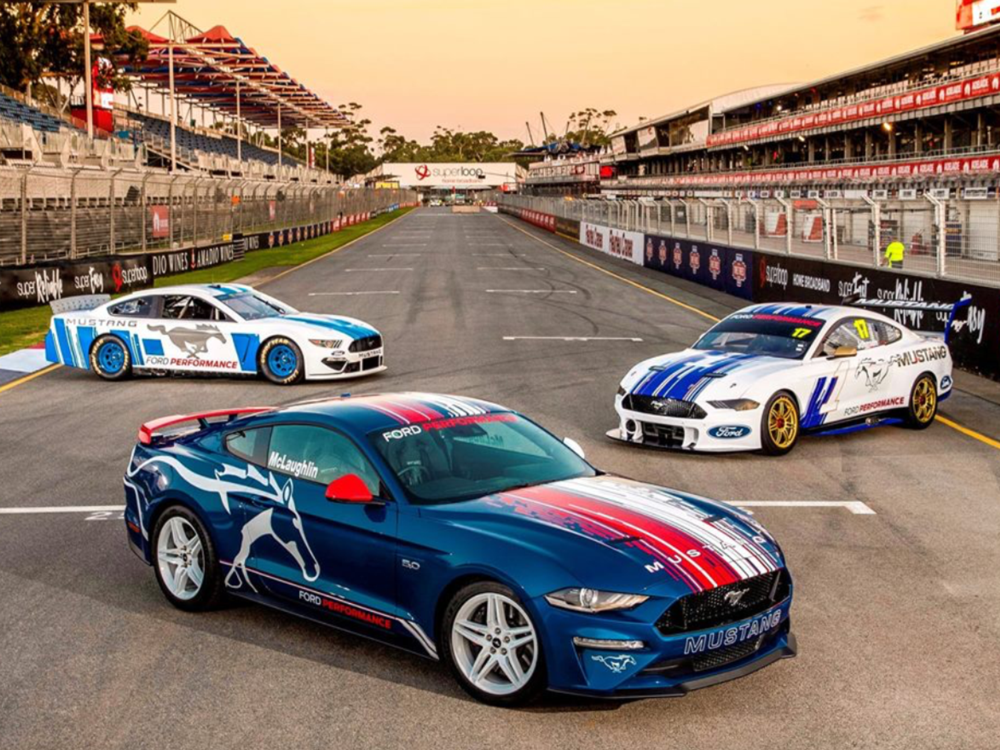 2019 Superloop Adelaide 500 Cars Series Super Cars Shelby Gt500