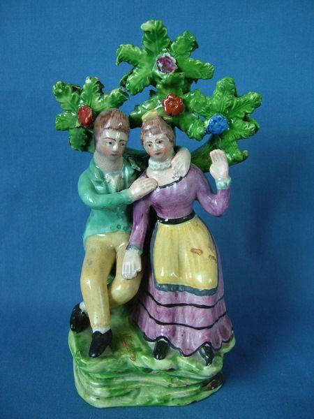 Pearlware. Dale figure / 1820