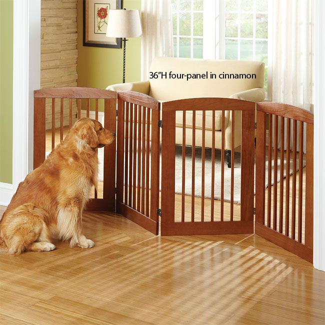 Our Zig-Zag indoor wooden dog gates are an easy and great-looking ...
