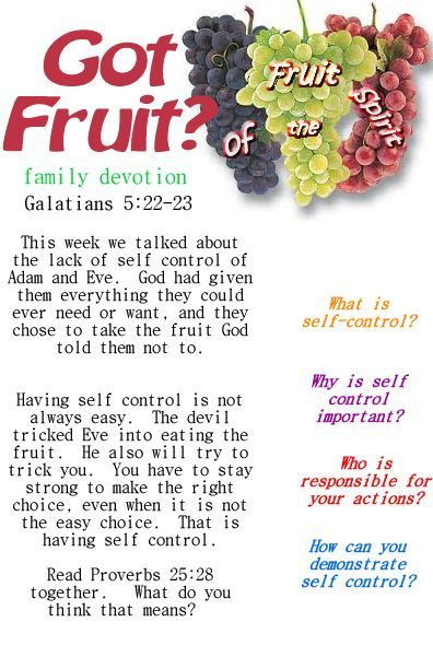 family devotions for preschoolers fruit of the spirit devotional or small questions on 349