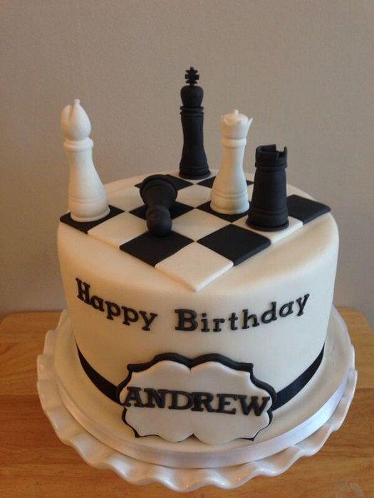 Chess Board Cake Pasteles Chess Cake Cake Boys 18th