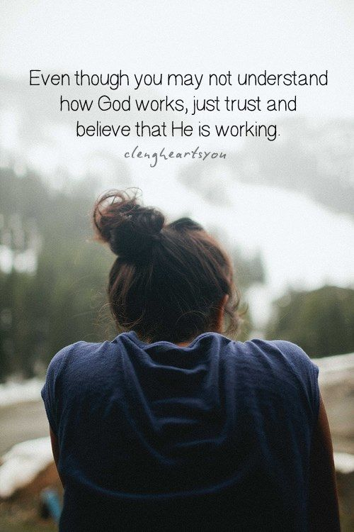 """Just trust and believe :) Mark 9:24 """"And straightway the father of the child cried out, and said with tears, Lord, I believe; help thou mine unbelief"""". Mark 11:23 """"For verily I say unto you, That whosoever shall say unto this mountain, Be thou removed, and be thou cast into the sea; and shall not doubt in his heart, but shall believe that those things which he saith shall come to pass; he shall have whatsoever he saith""""."""
