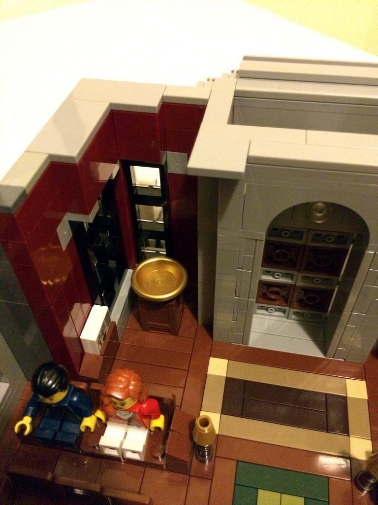 Lego My 15th custom modular building
