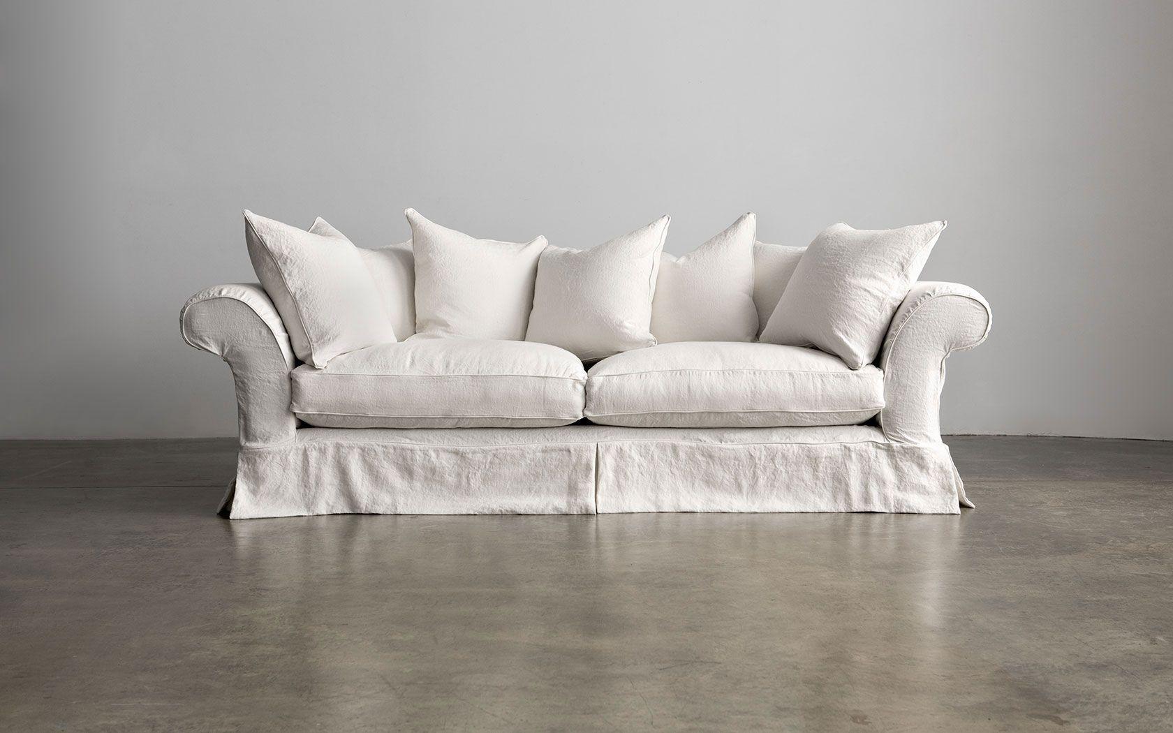 Montauk Sofa Nine Bean Rows Sofa White Sofas Montauk