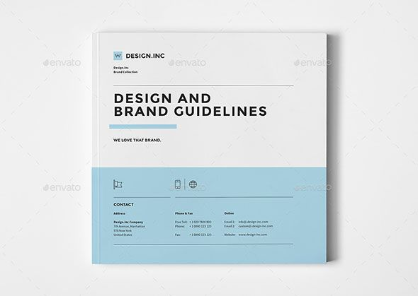 25 Best Brand Guideline Design Templates Brand guidelines design - manual templates