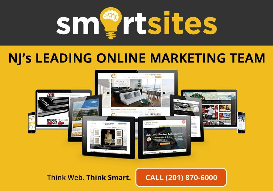 Think Web Think Smart New Jersey S Leading Online Marketing Team We Design Develop Promote Websites Online Marketing Digital Marketing Agency Web Design