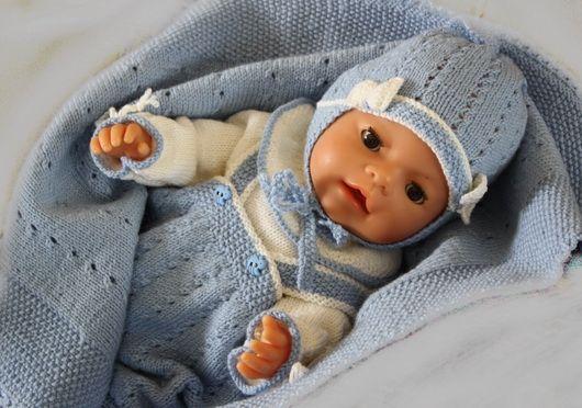 Le plus mignon des modèles de tricot pour poupon de l\'année | poupée ...