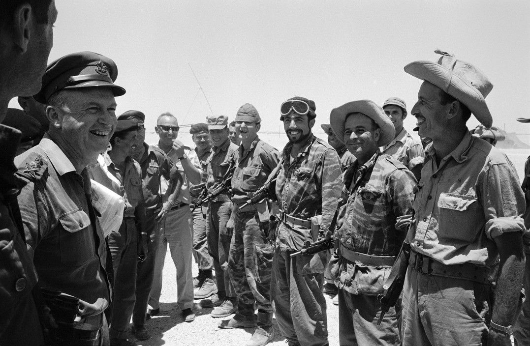 The Six Day War in Pictures - History in Photographs