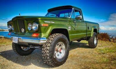 Ebay 1970 Jeep J2000 Pickup Jeep J2000 Pickup Classic Fresh