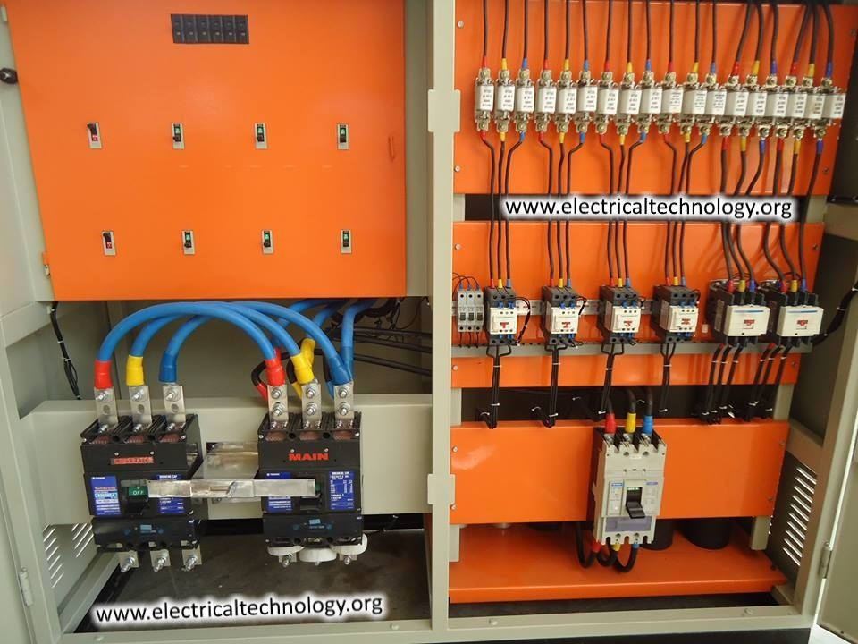 Image Result For Power Distribution Panel Board Diagram