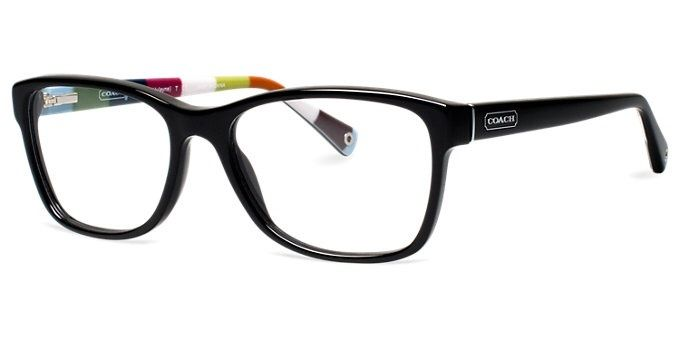 78b610679d New Authentic Coach Eyeglasses HC6013 5002 Black 54mm
