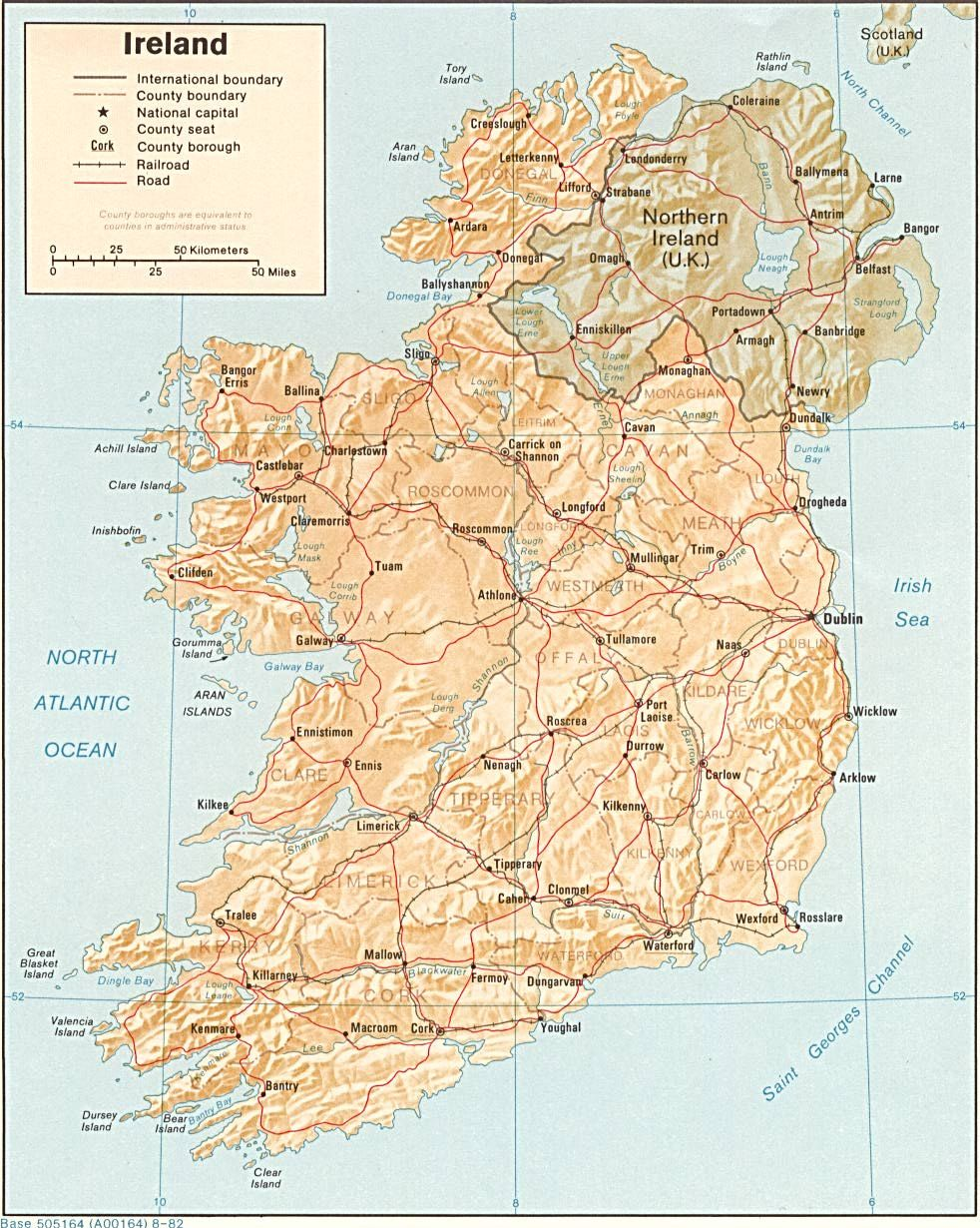 Map Of Southern Ireland Cities.Pin By Carolyn Tylutki On Genealogy Ireland Map Map Southern Ireland
