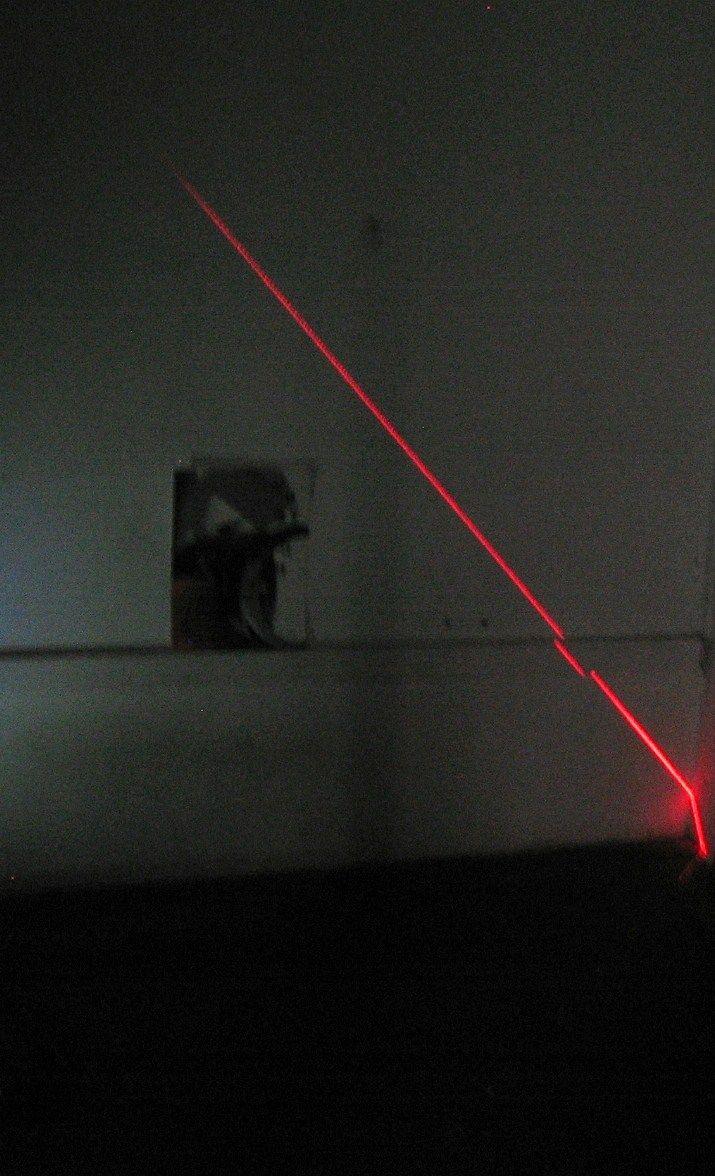 installation laser