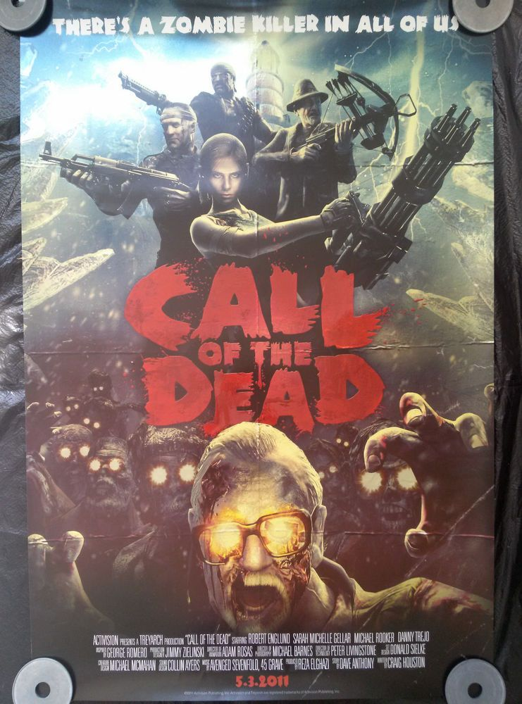 Call of Duty Black Ops 4 Zombies Blood Of The Dead Art Silk Poster 12x18 24x36