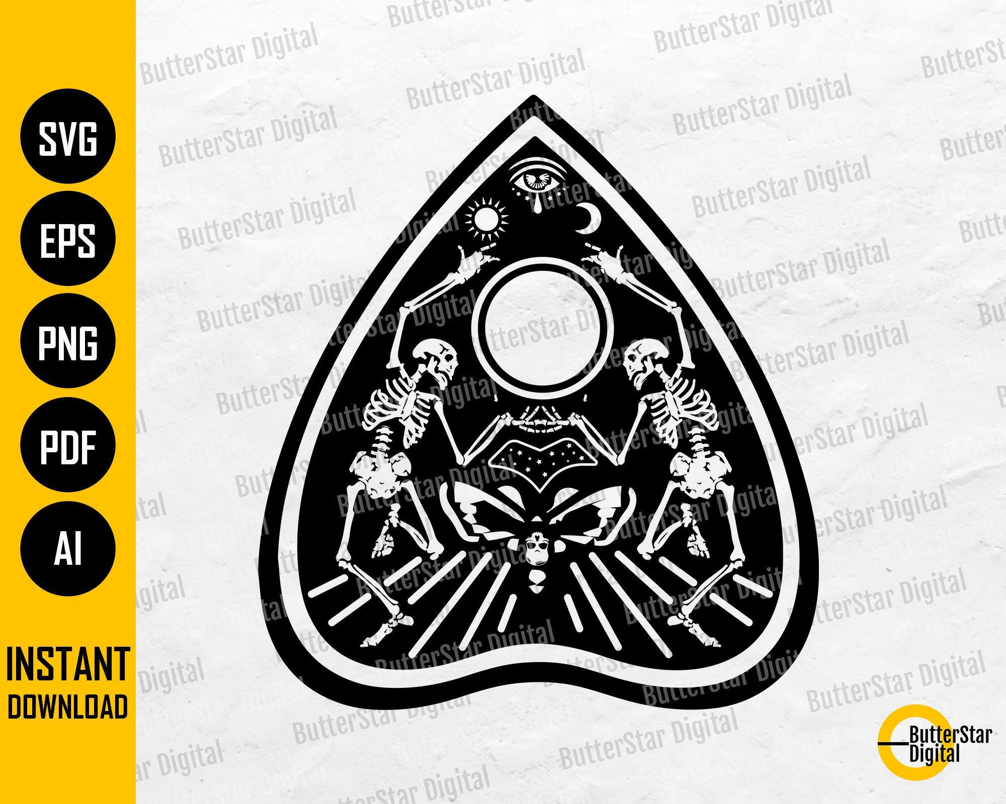 Ouija Planchette Svg Ouija Spirit Board Game Cricut Etsy In 2021 Ouija Spirit Board Planchette