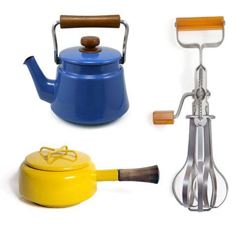 Vintage keukenspul van Pot+Pantry
