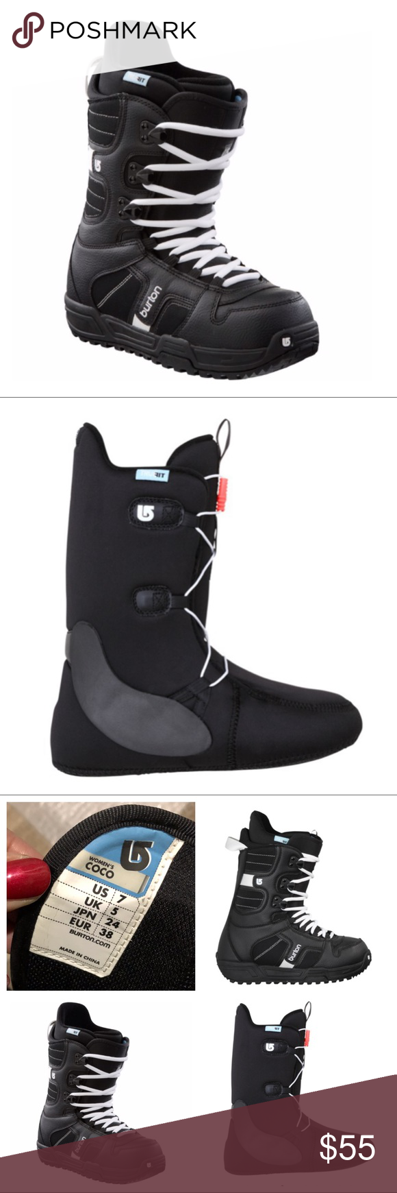 Burton Coco Snowboard Boots My Posh Closet Burton Shoes