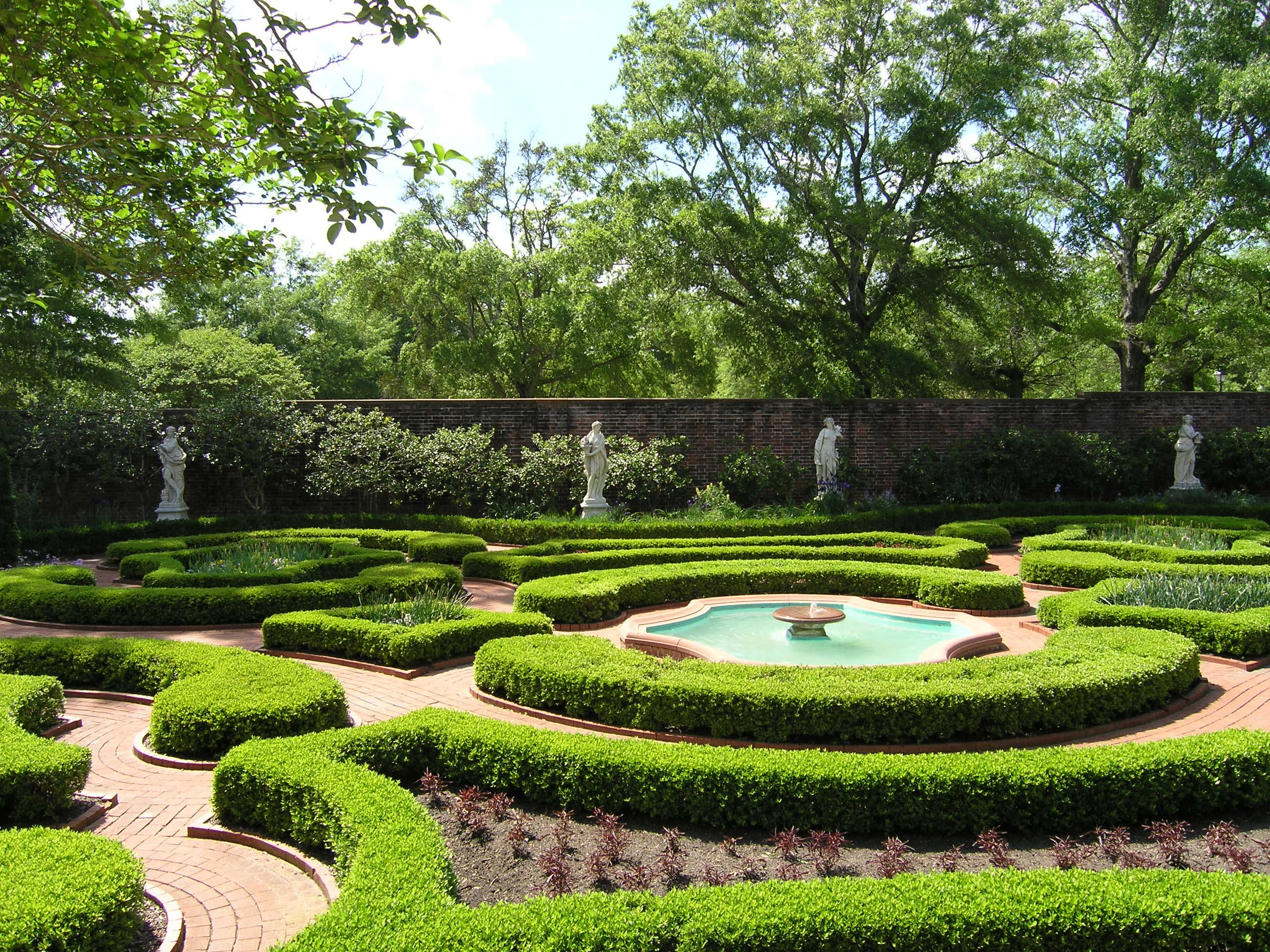 Parterre Garden Tryon Palace New Bern Nc Landscaping