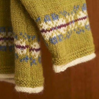 Girl\'s Fair Isle Raglan Swing Cardigan detail   Truien   Pinterest ...