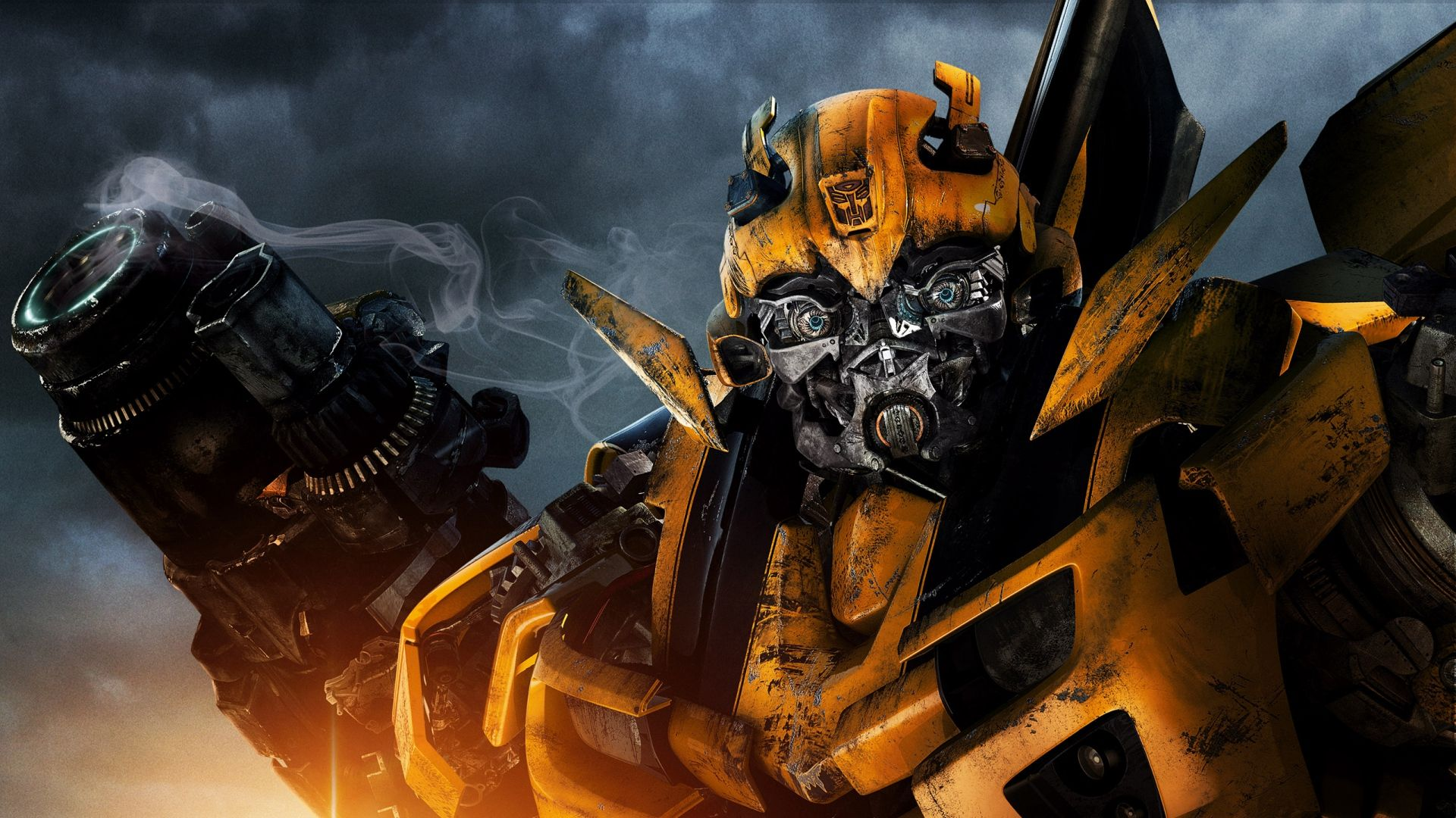 1920x1080 wallpaper transformers bumblebee robot