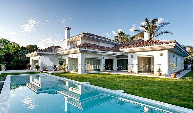Immobilier prestige : Espagne, Marbella, villa de standing : Villas ...