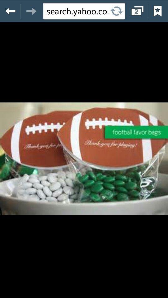 Football Wedding Favors