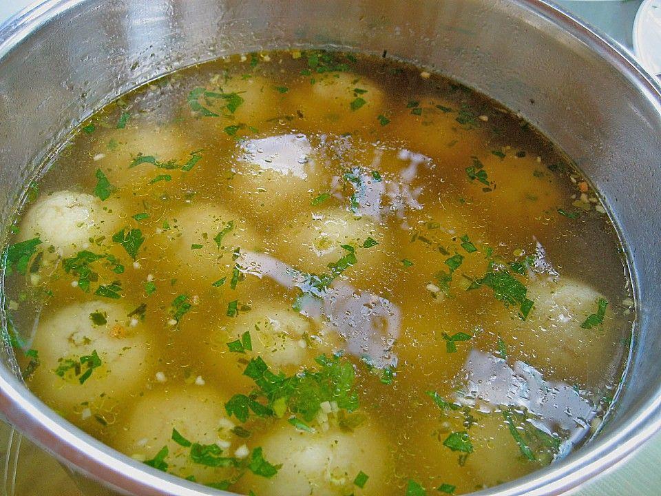Osterreichische Griessnocken Rezept Suppen Griessnockerln Nockerl