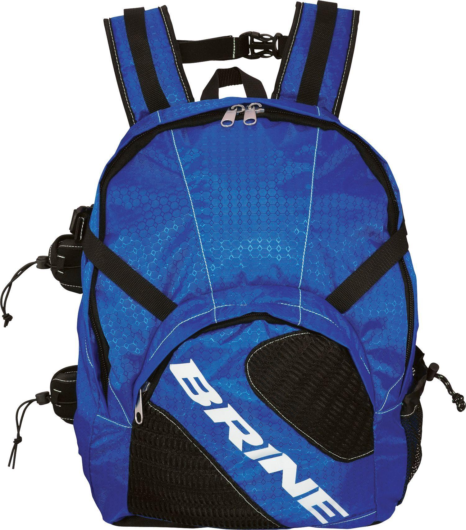 Brine jetpack lacrosse backpack blue lacrosse backpacks