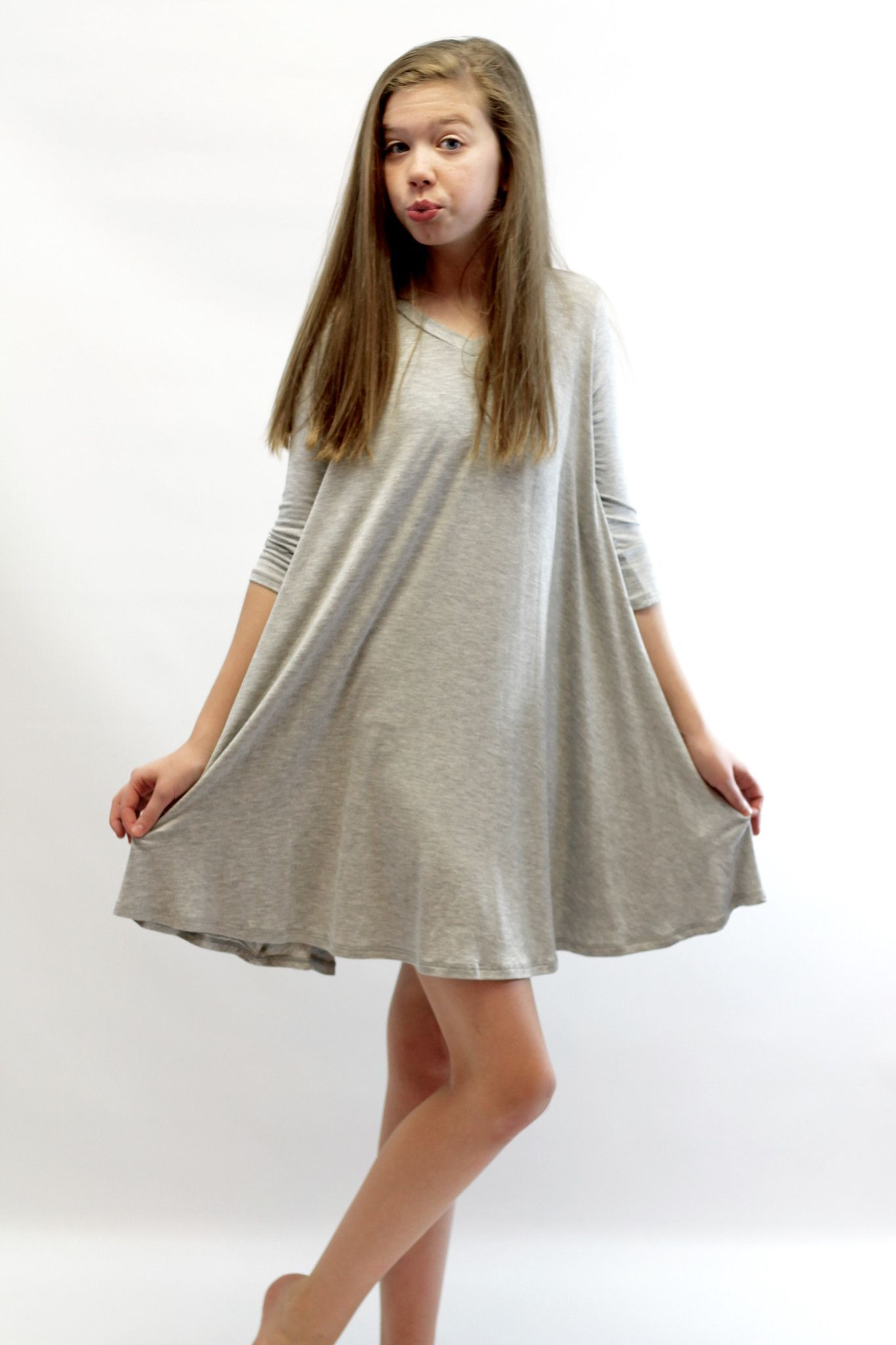 ac37e0fa9e86 Flowy Tee Shirt Dress