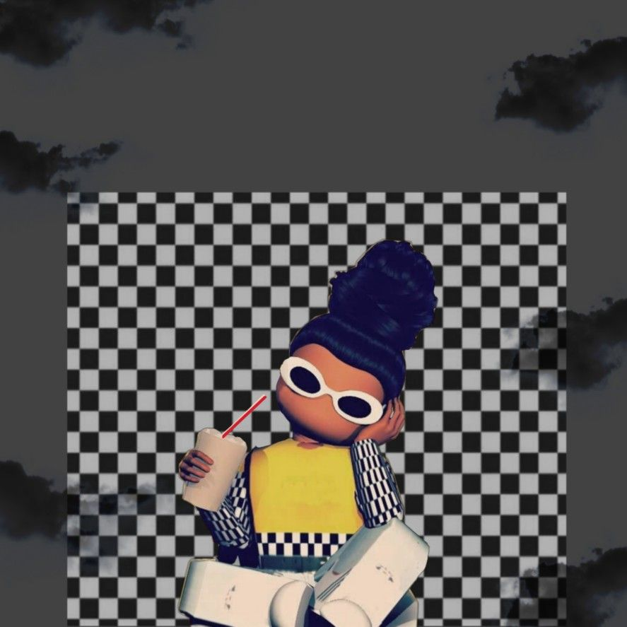 Roblox Black Girl In 2021 Cute Tumblr Wallpaper Roblox Pictures Roblox