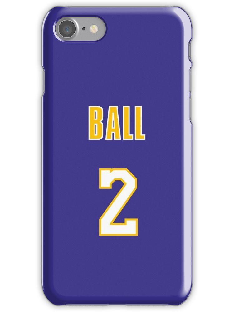 8b2da9f6f0f Lonzo Ball 2 Lakers Jersey Phone Case' iPhone Case by Shaun Tayaba ...
