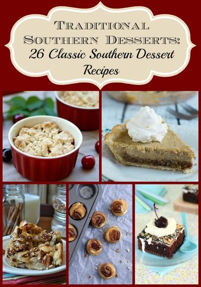 Southern Dessert Recipes