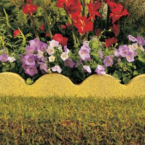 Scalloped Edging One Sided Edging Buff L 600mm H 150mm T 50mm Pack Of 48 Stone Edging Paving Edging Garden Edging