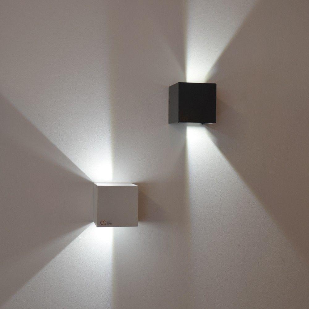 S Luce Pro Led Effekt Wandleuchte Ixa Innen Aussen Ip44 Anthrazit 42981 Wandleuchte Led Wandleuchten Treppenhaus Beleuchtung