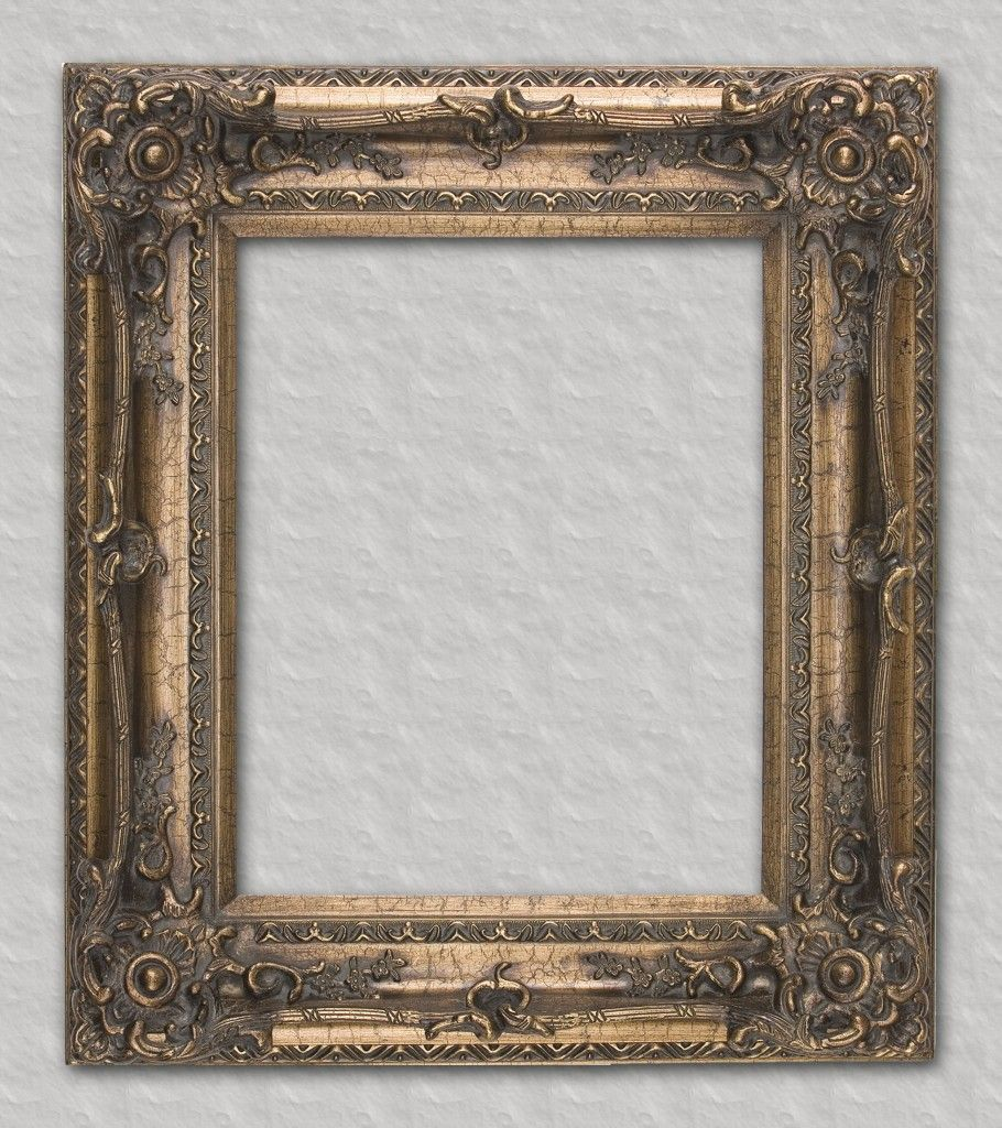 Bronze ornate readymade frame ready for your favorite