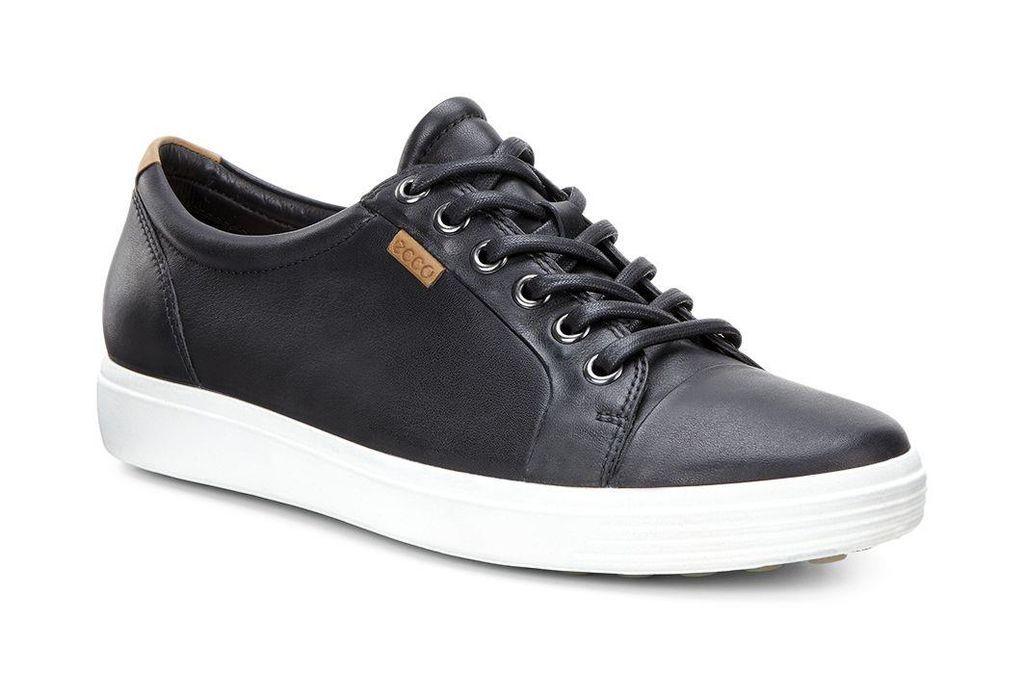 Ecco Womens Soft 7 Sneaker Black Ecco Shoes Women Ecco Shoes Leather Shoes Woman