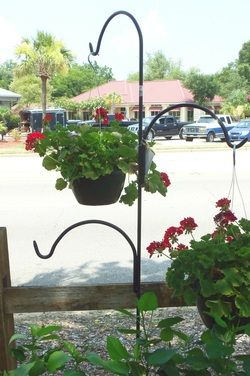 Pick Up A Triple Shepherdu0027s Hook For Your Garden From Central! Itu0027s Strong  And Durable