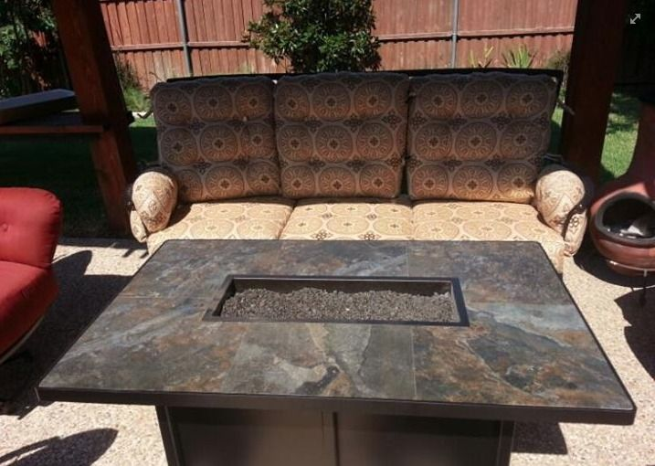O W Lee S Monterra Patio Furniture Collection Paired With A