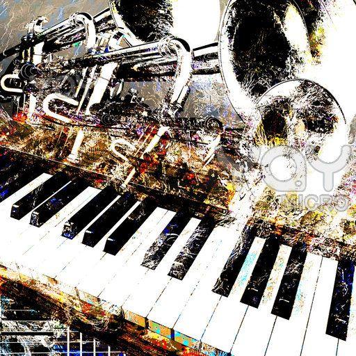 Trumpet Piano Music Art Music Artwork Piano Art