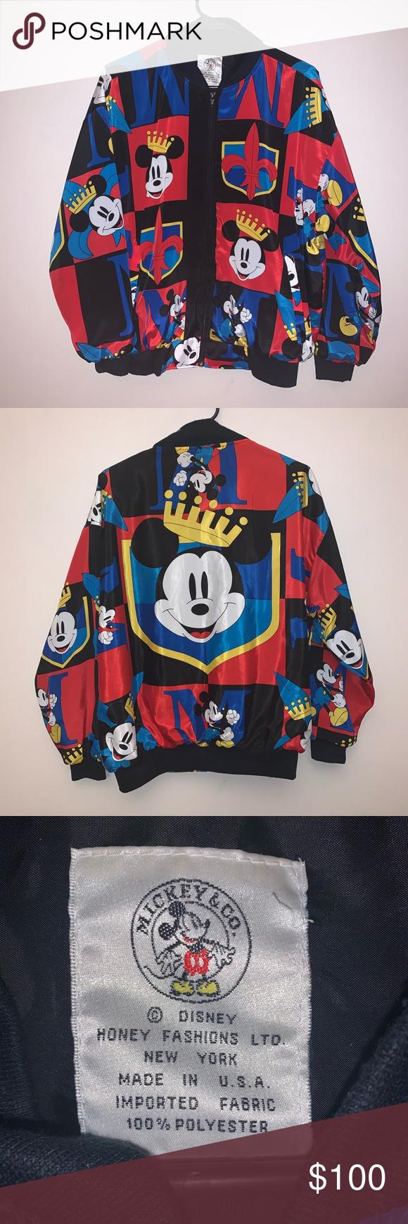 Vintage Mickey Mouse Bomber Jacket Vintage Mickey Bomber Jacket Vintage Mickey Mouse [ 1740 x 580 Pixel ]