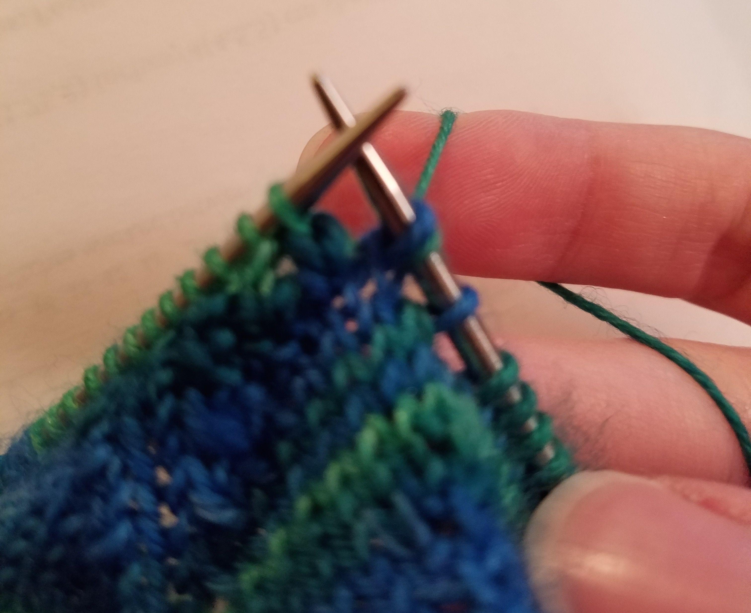 Reverse Knitting Diamondback Stitches Stitch