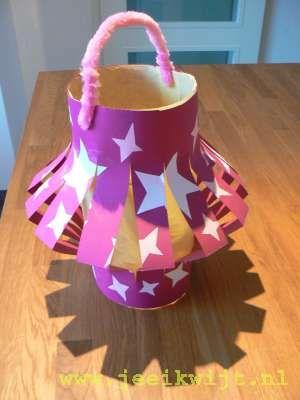 zelf een lampion knutselen | lampion - diy for kids, christmas star