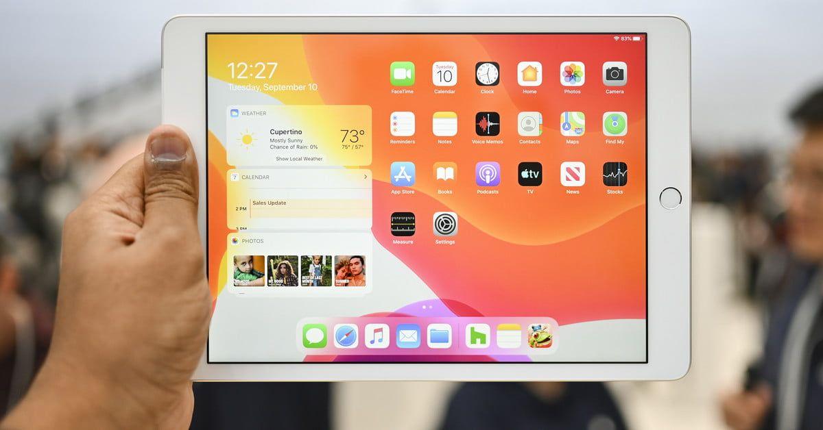 Shop Ipad 2018 Latest Model With Wi Fi Only 32gb Apple 9 7in Ipad Mr7f2ll A Space Gray Renewed Di 2020
