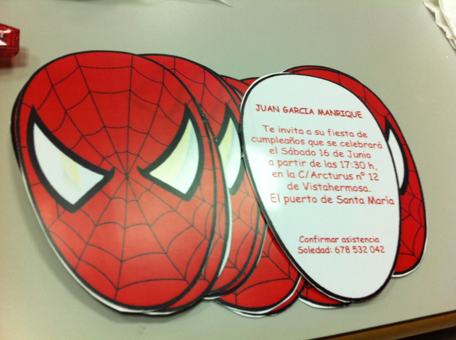 Invitaciones De Cumpleaños De Spiderman Para Descargar Gratis 13 en ...