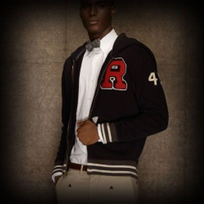 Ralph Lauren Rugby メンズ パーカー ラルフローレンラグビー Fleece Hooded Varsity Jacket ジップ パーカー-アバクロ 通販 ショップ #ITShop